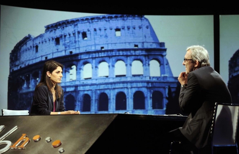 Virginia Raggi e Roberto Giachetti, candidati al ballottaggio a Roma