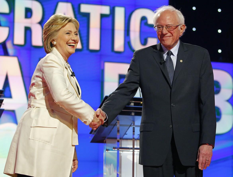 L'incontro Clinton-Sanders