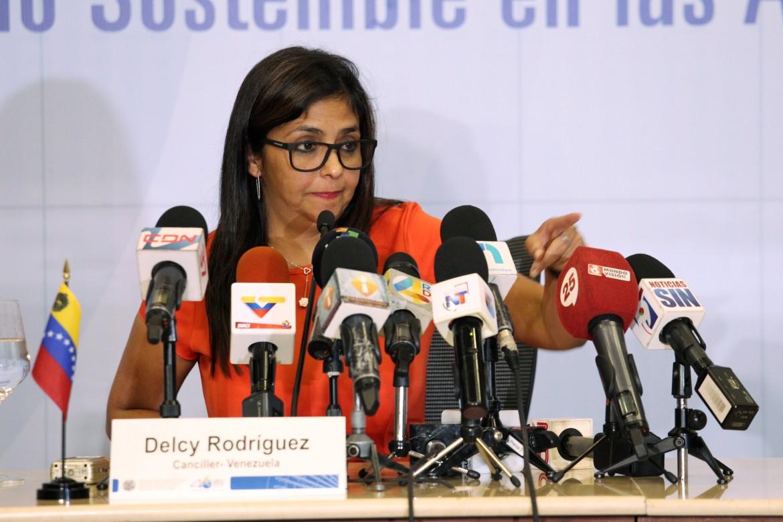 La ministre degli esteri venezuelana