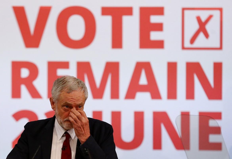 Il leader Labour Jeremy Corbyn