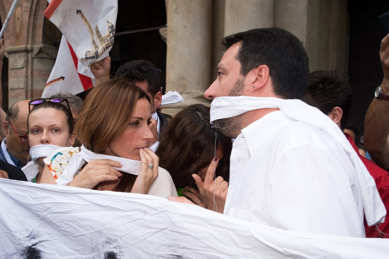 Bergonzoni e Salvini