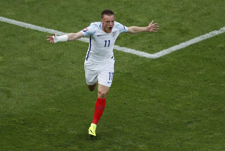 Euro2016, Jamie Vardy dopo il gol segnato al Galles