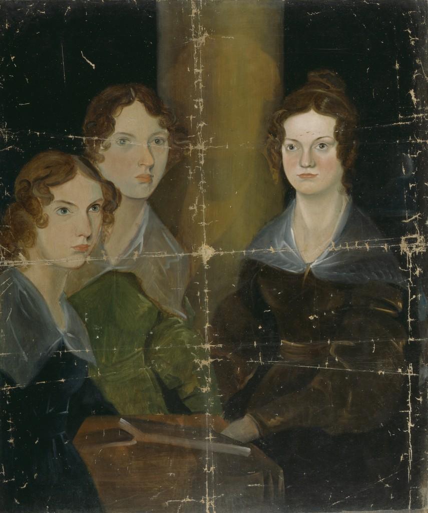 Le sorelle Brontë nel ritratto realizzato dal fratello Patrick Branwell