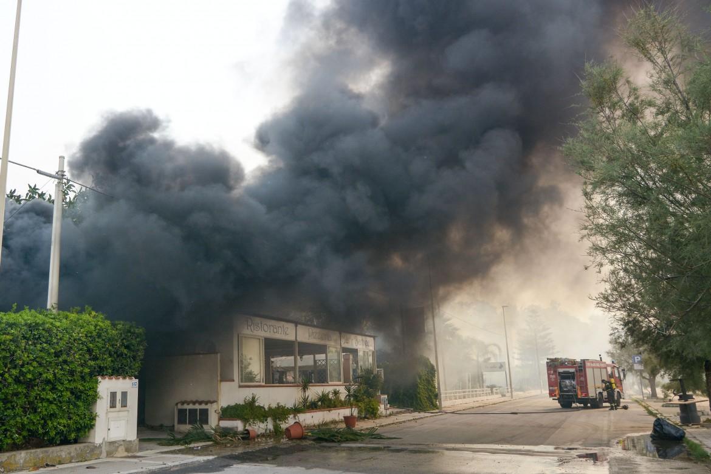 Incendi a Cefalù