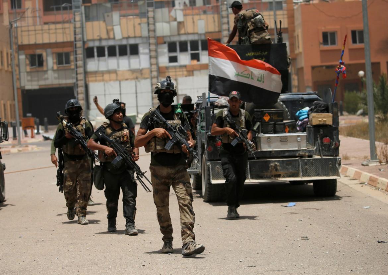Soldati dell'esercito iracheno
