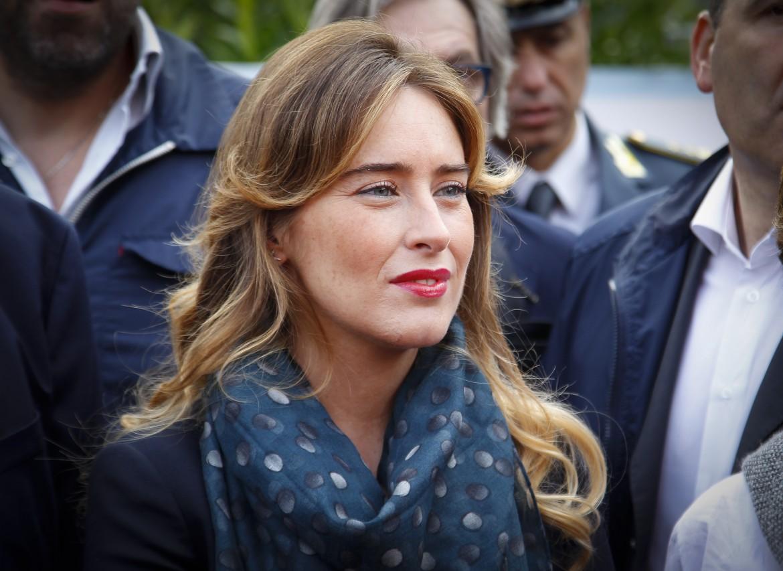 La ministra aretina Maria Elena Boschi