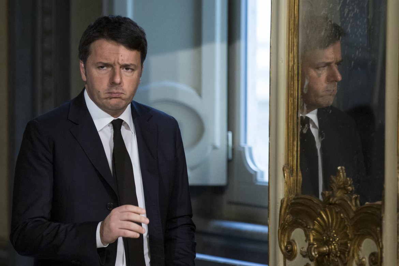 Matteo Renzi allo specchio