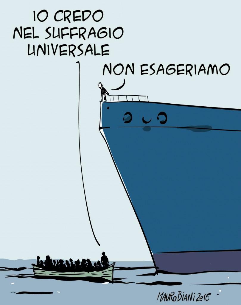 migranti suffragio universale