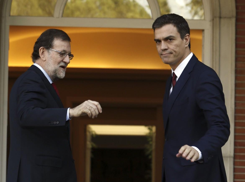 Spagna, Mariano Rajoy e Pedro Sánchez