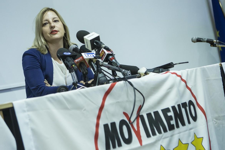 Roberta Lombardi, capogruppo 5s alla Regione Lazio