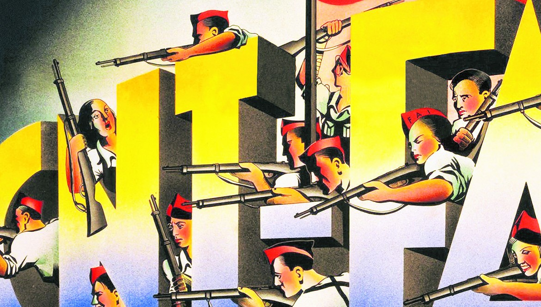 Un poster del FAI, la Federzione anarchica iberica