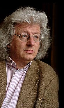 Lo scrittore Péter Esterházy