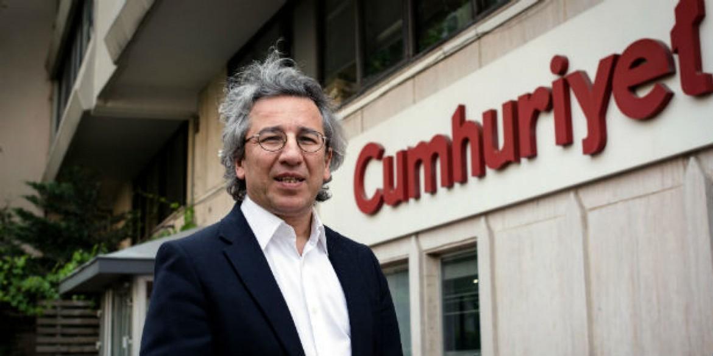 L'ex direttore di Cumhuriyet, Can Dundar