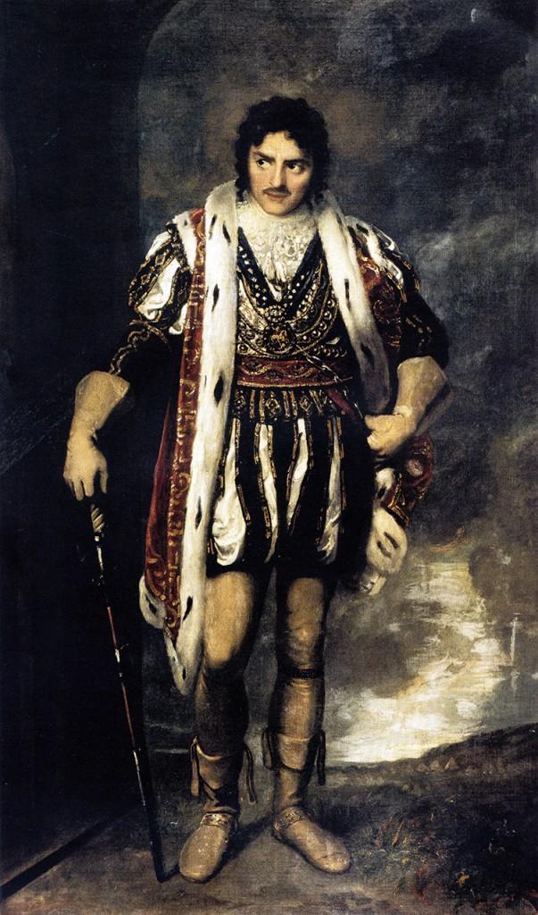 Samuel Drummond, «Edmund Kean come Riccardo III», 1814, Londra, Sadler's Wells Theatre Collection