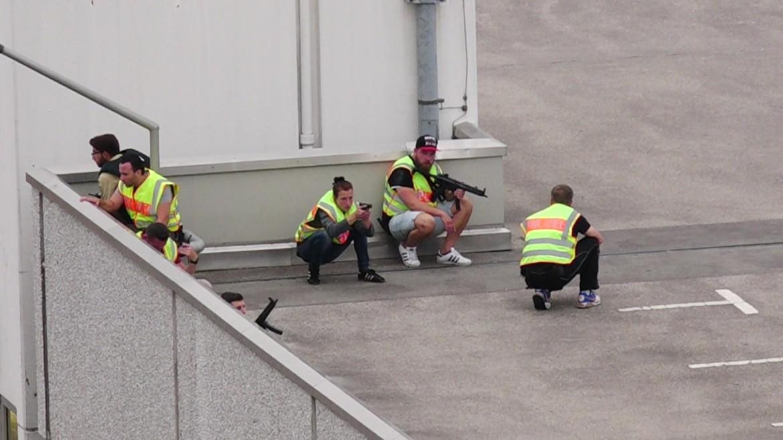 La polizia alla caccia dei tre uomini in fuga a Monaco