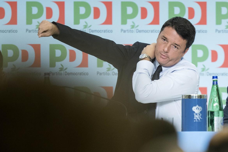 Il presidente Matteo Renzi