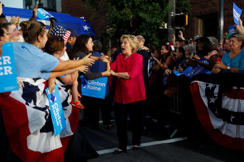 Hillary Clinton a Filadelfia