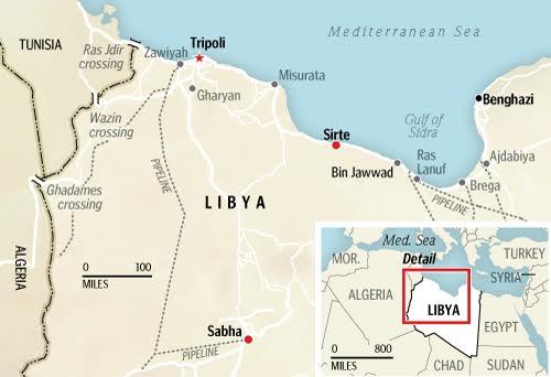 I raid Usa di ieri hanno colpito la città libica di Sirte