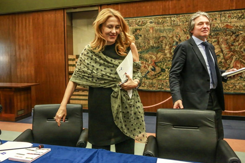 Monica Maggioni e Antonio Campo Dall'Orto, presidente e dg Rai