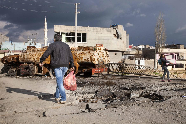 La città kurda di Nusaybin, sud-est turco