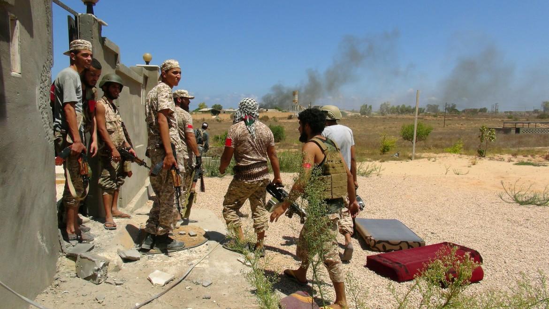 Forze libiche verso Sirte