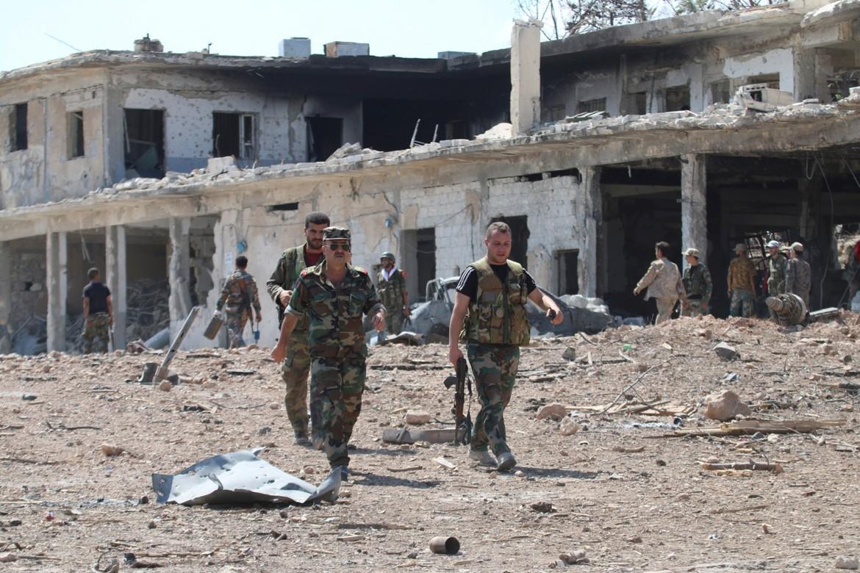 Esercito governativo ad Aleppo