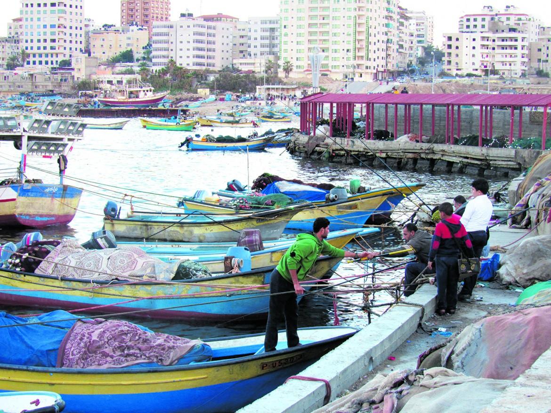 Il porto di Gaza City