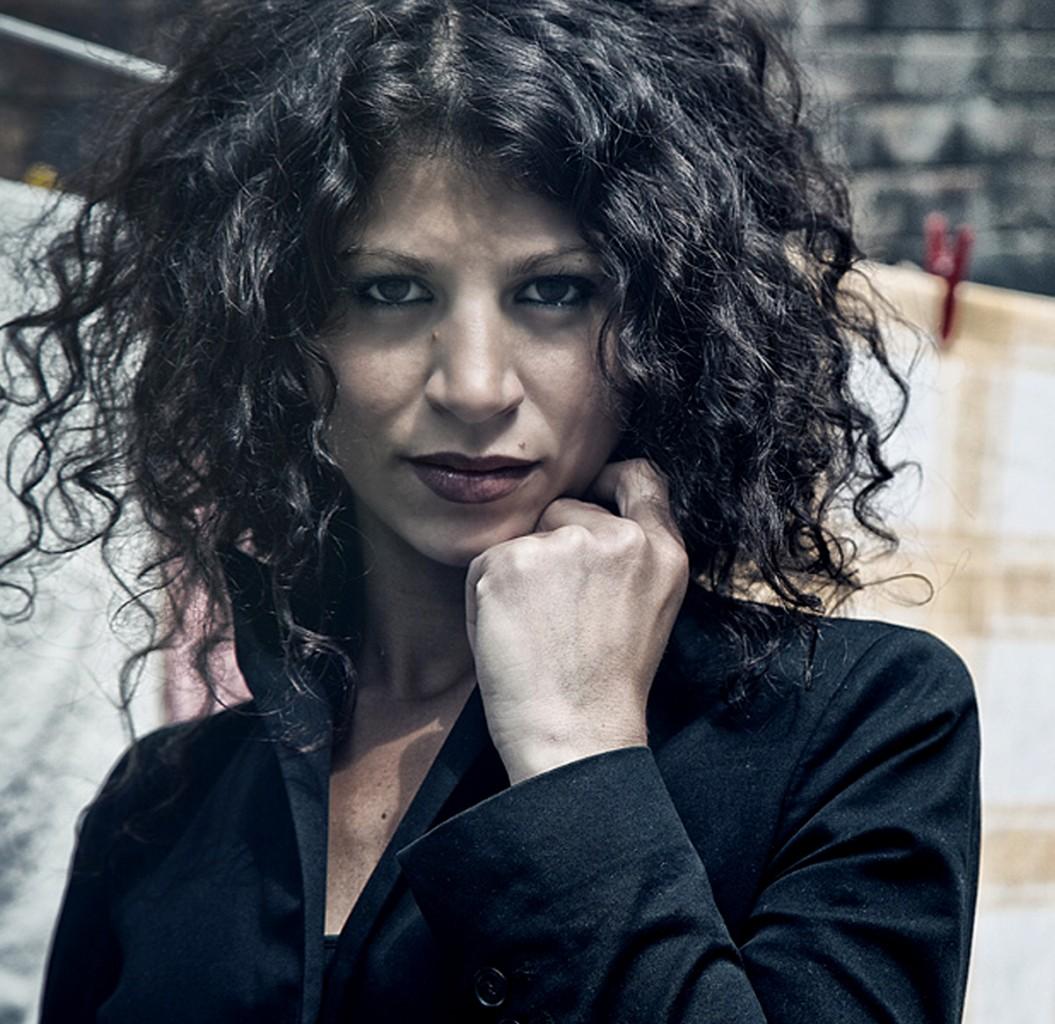 L'attrice e ballerina palestinese Dalal Suleiman