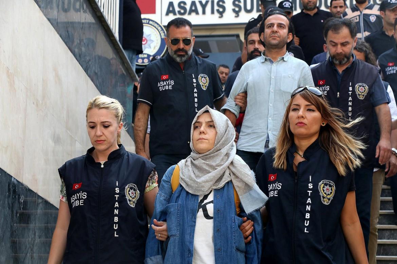 Giornalisti turchi arrestati nel 2016