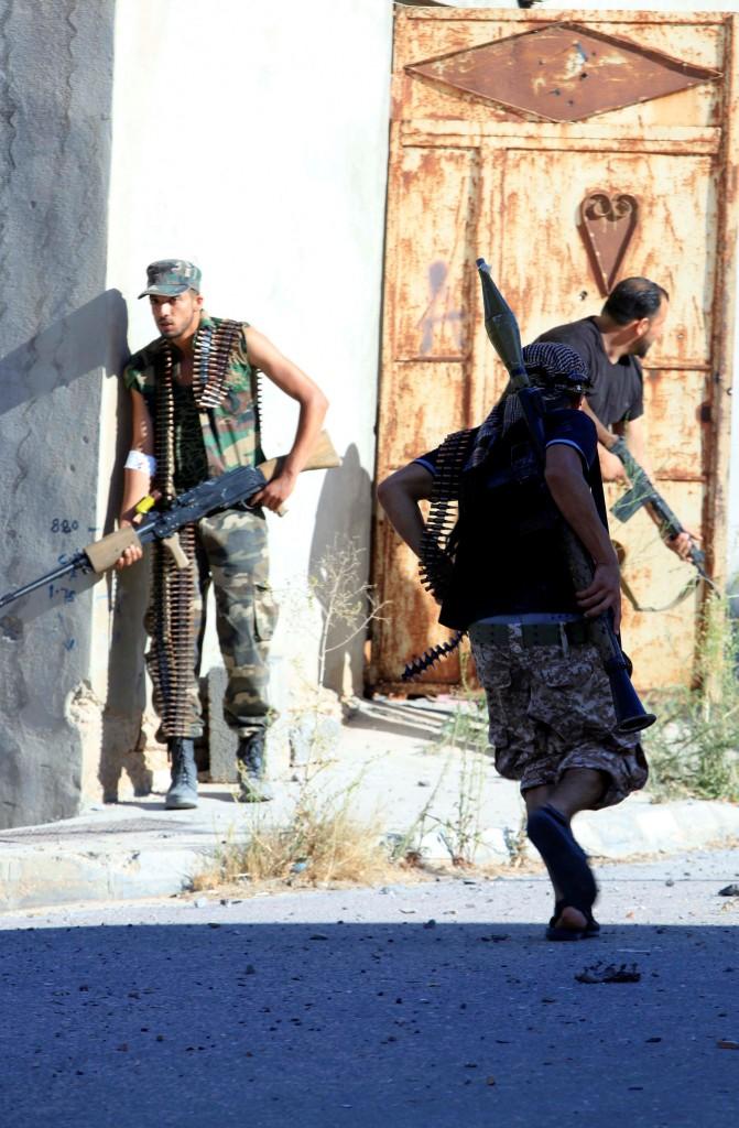 I miliziani delle Brigate Misurata a Sirte