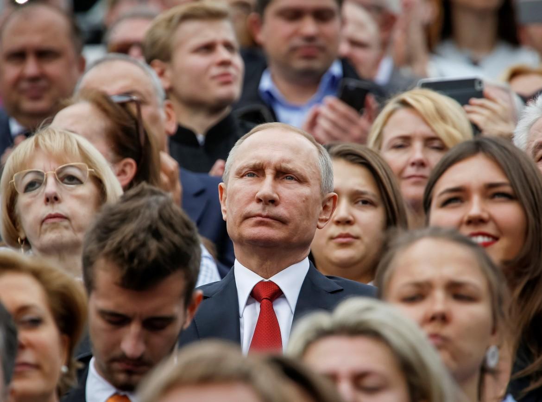 Il presidente russo Vladimir Putin