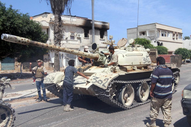 Milizie armate in Libia