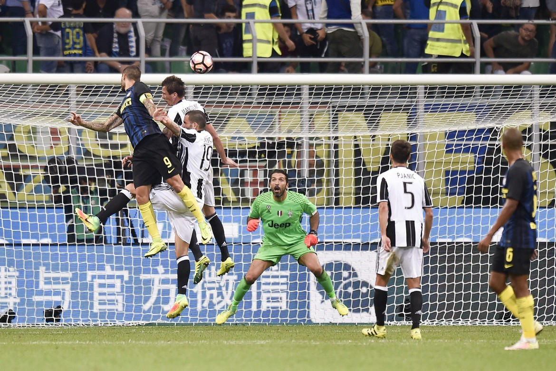 Icardi in Inter Juventus 2-1