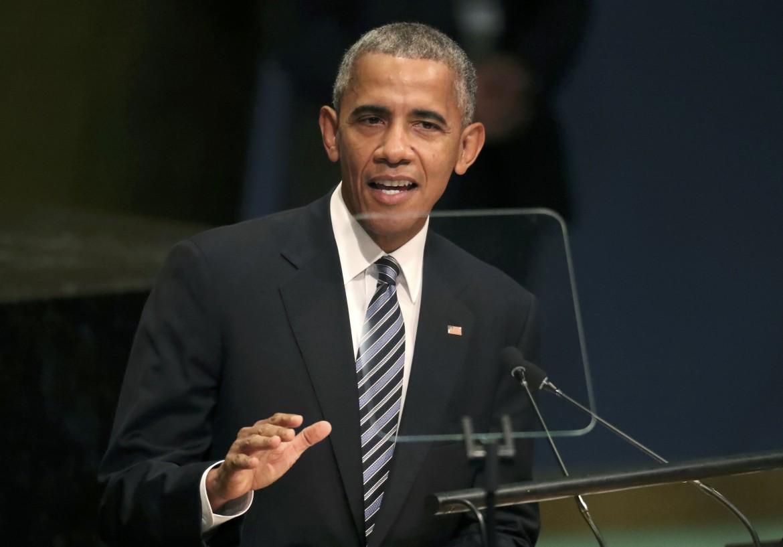 Barack Obama all'assemblea generale dell'Onu il 20 settembre 2016