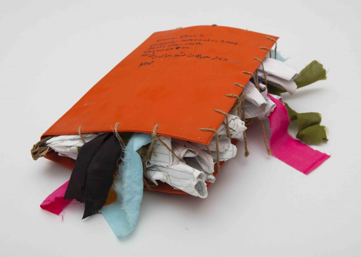 Hassan Sharif, Colourful File No. 2, 2006 (Courtesy Gallery Isabelle van den Eynde, Dubai; Alexander Gray Associates, New York)