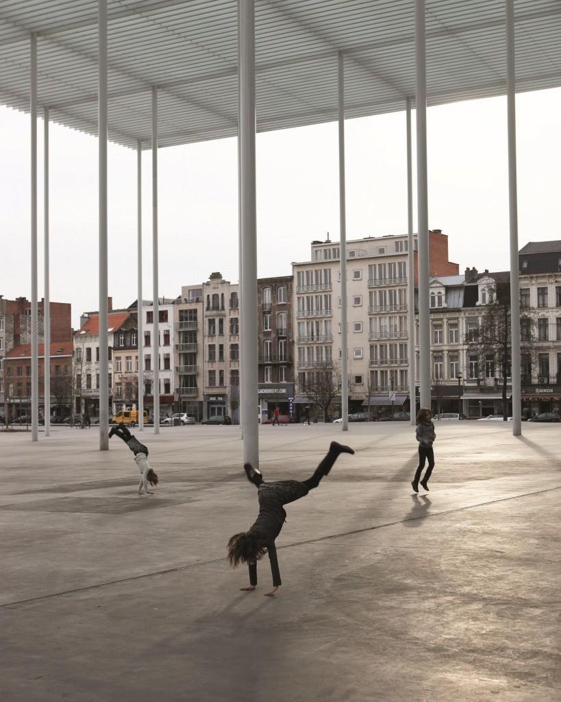 Bernardo Secchi, Paola Viganò - Spazio pubblico a Antwerp (Belgio) 2004-2008