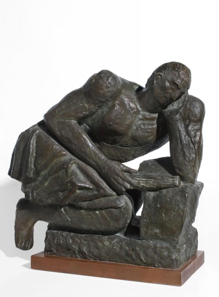 Arturo Martini, «Tito Livio», 1942, collezione privata, cortesia  Galleria Gomiero Milano-Padova