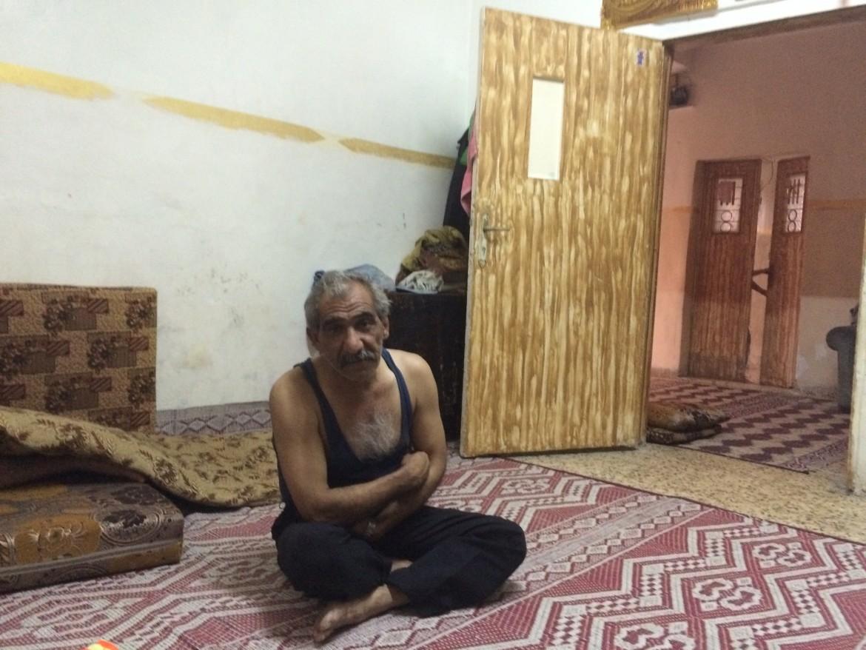 Un profugo siriano in Giordania