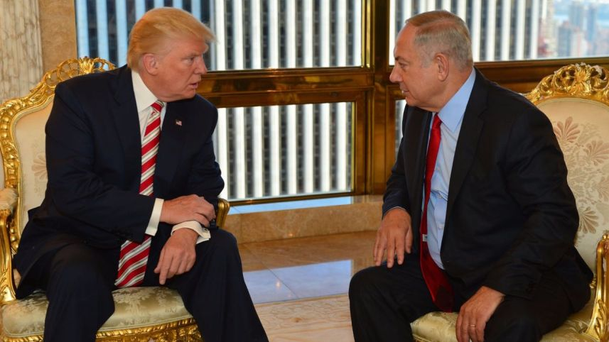 Donald Trump e Benyamin Netanyahu