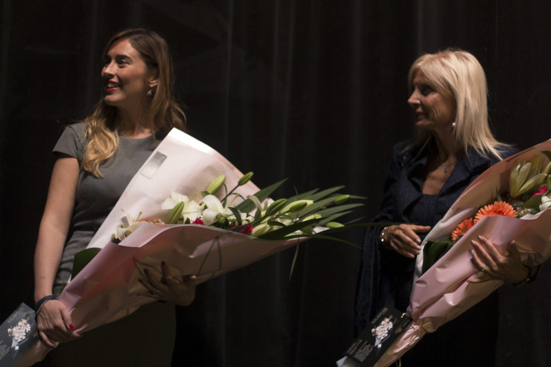 Maria Elena Boschi e l'ambasciatrice italiana Teresa Castaldo a Buenos Aires