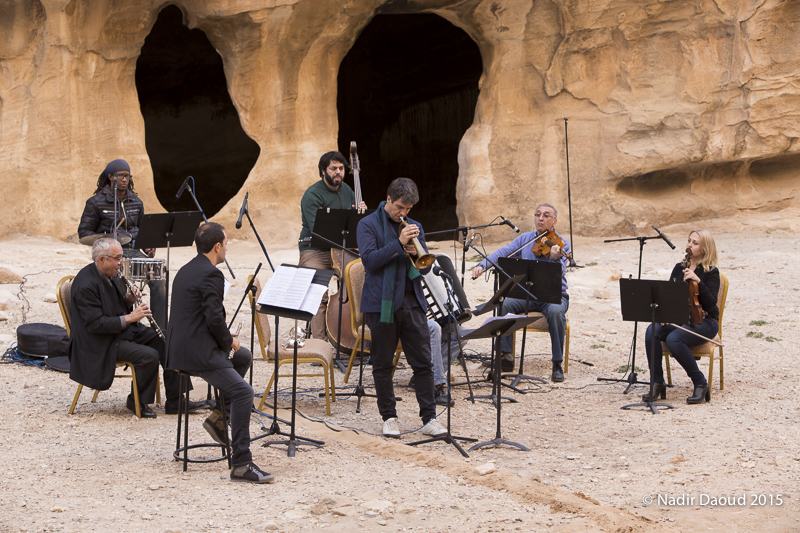 Luca Aquino e la Jordan National Orchestra