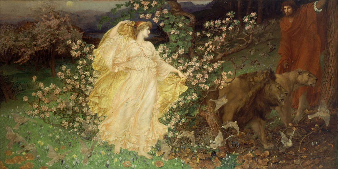 William Blake Richmond, Venus and Anchises