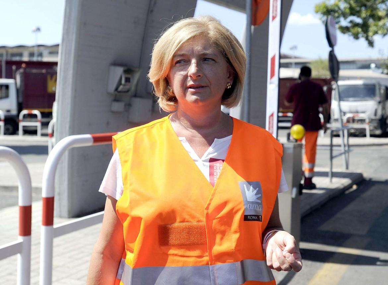 L'assessora all'Ambiente di Roma, Paola Muraro