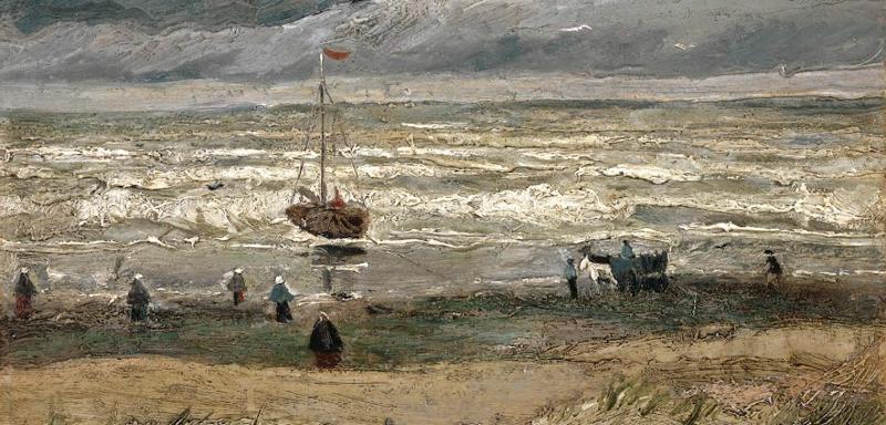Paesaggio marino a Scheveningen