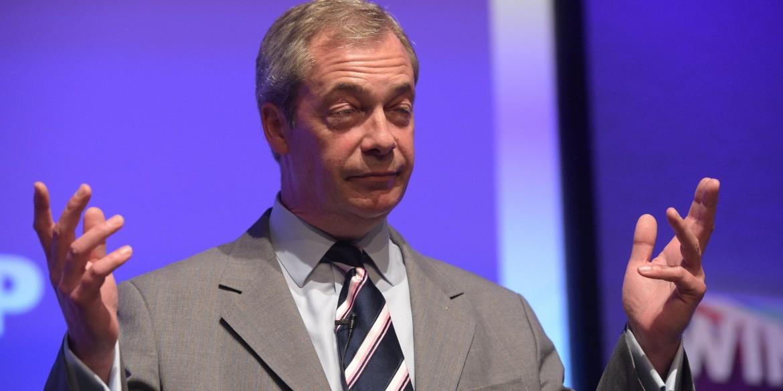Nigel Farage torna alla guida dell'Ukip