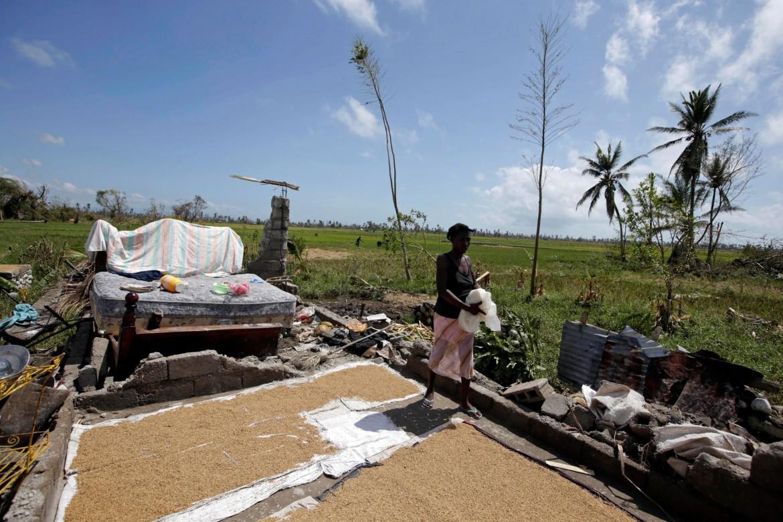 I danni dell'uragano nei pressi di Les Cayes, Haiti
