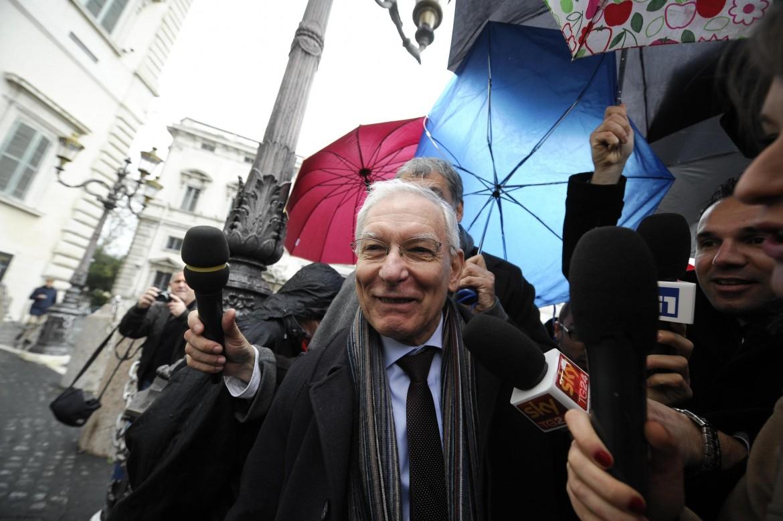 L'ex presidente della Corte costituzionale Valerio Onida