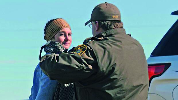 L'arresto di Shailene Woodley in North Dakota