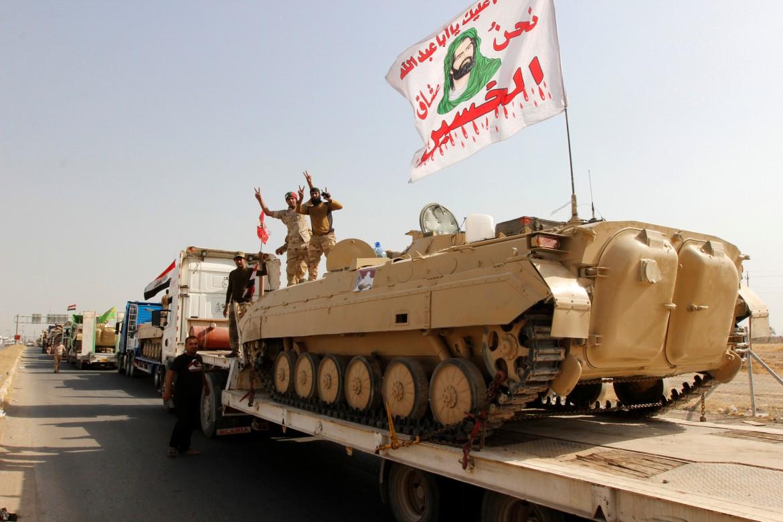 Le truppe di Baghdad verso Mosul