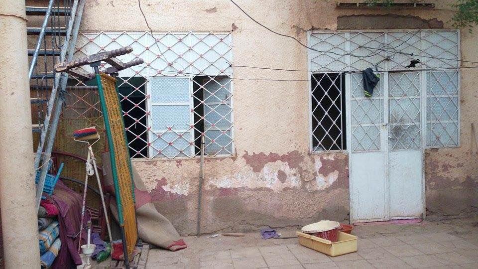 L'abitazione dell'uomo arrestato e sospettato di essere il trafficante di migranti